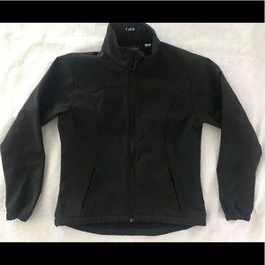 Womens Blk Diamond Soft Shell Fleece Jacket Size S